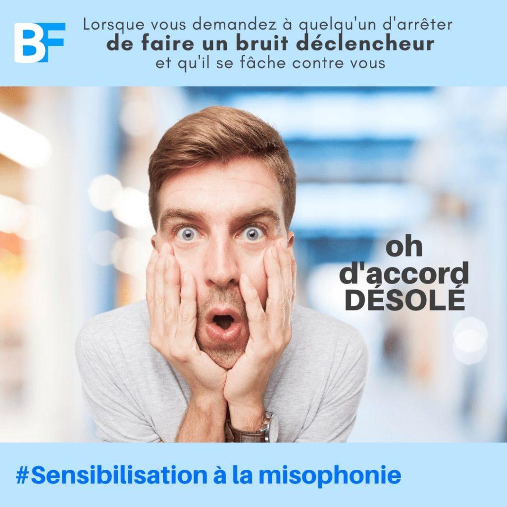 Bruit Sons Déclencheur Misophonie et problème de misophone -min
