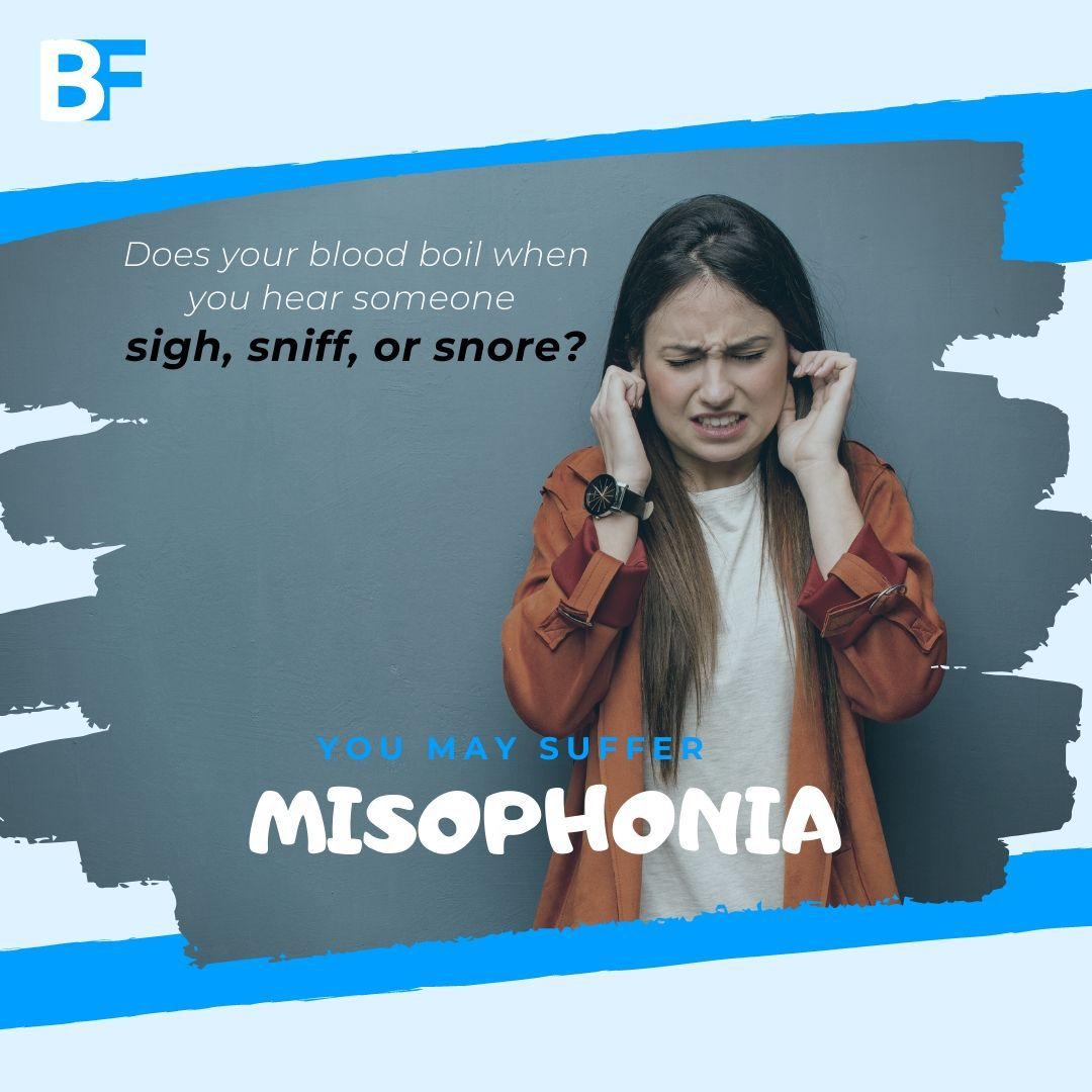 Does your blood boil when you hear someone sight sniff or snore you may suffer from misophonia-min