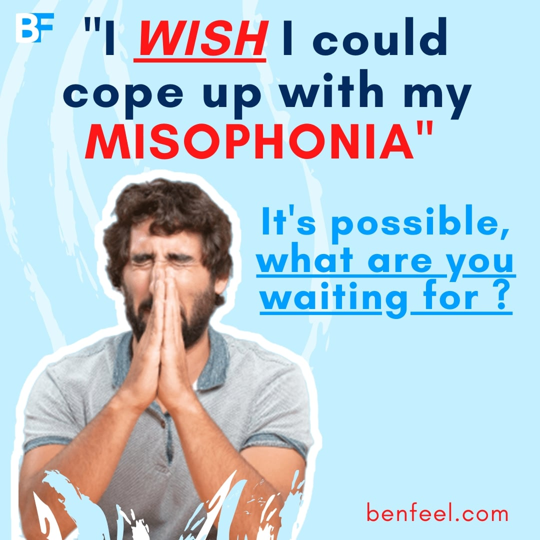 I wish I could cope up with my misophonia-min
