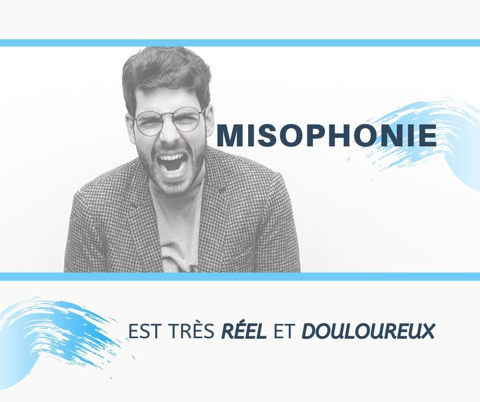 Misophonie est très réelle et douloureuse