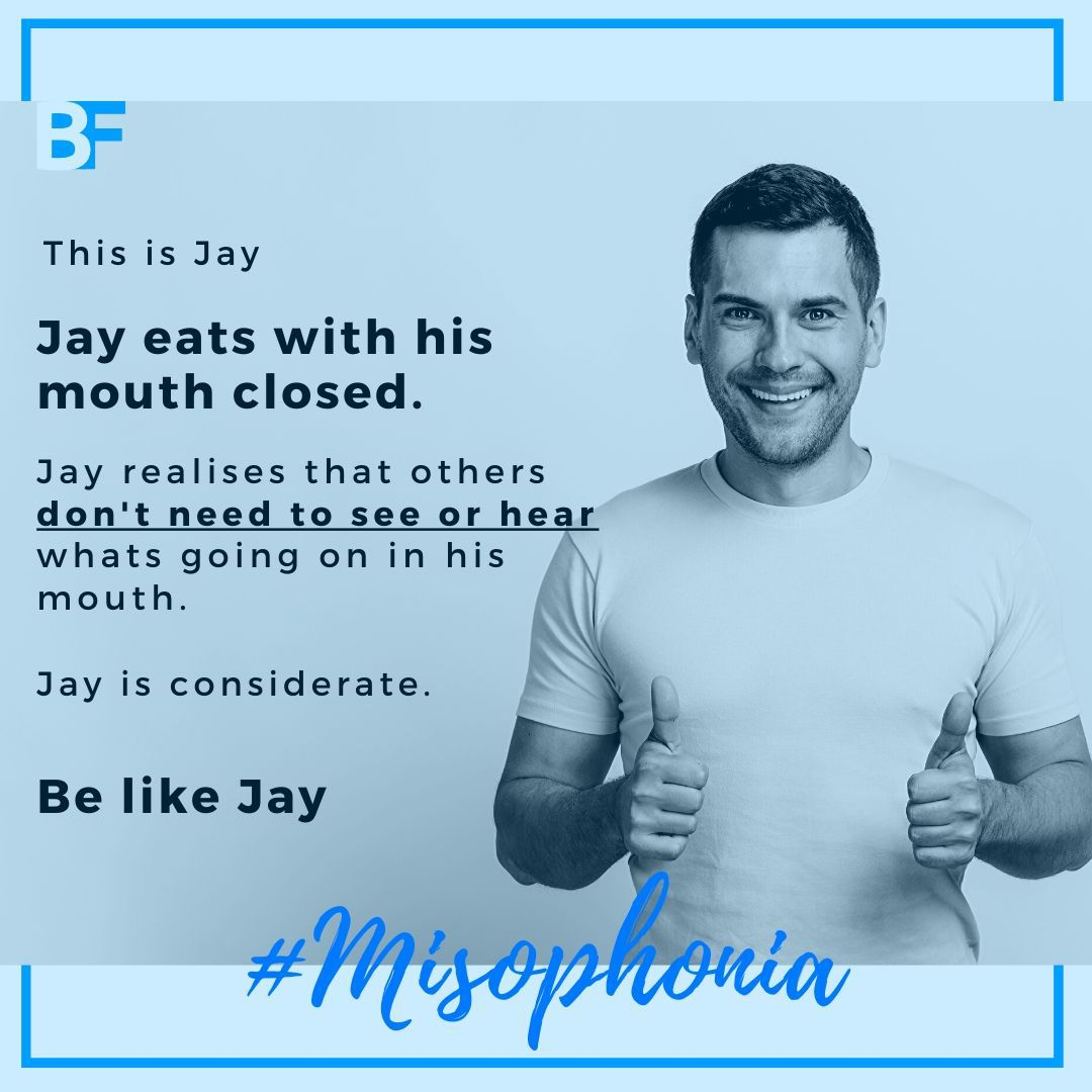 Please considerate Misophonia -min