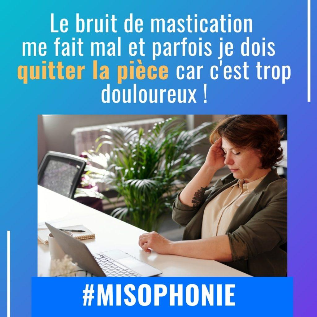 Le bruit de mastication me fait mal, c'est trop douloureux avec la misophonie-min