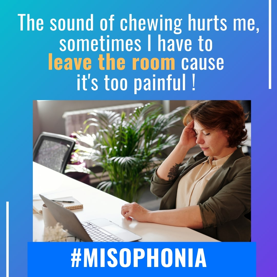 The sound of chewing hurts me, it's too painful with misophonia-min