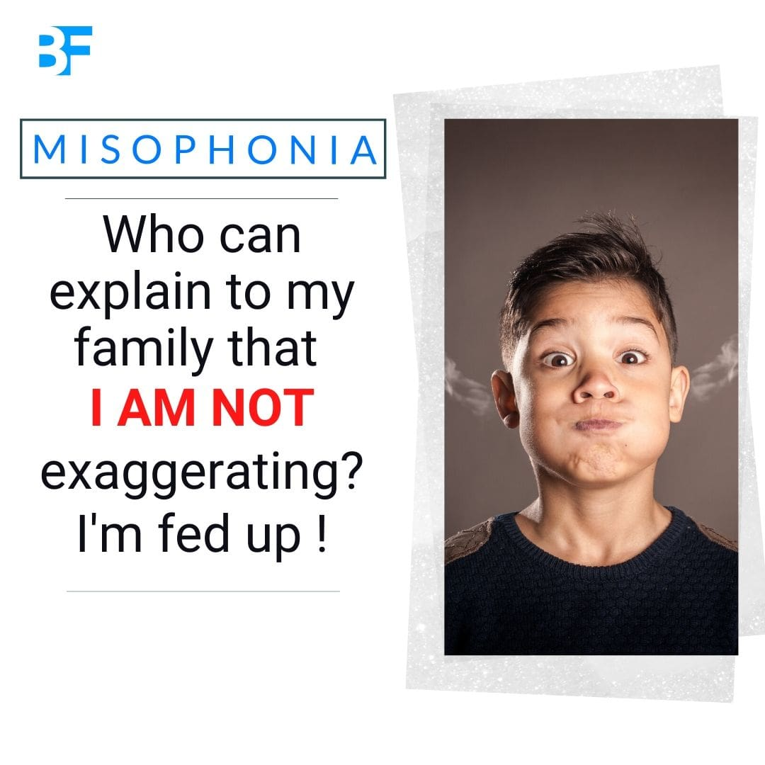 Who can explain to my family that I am not exaggerating about my misophonia-min