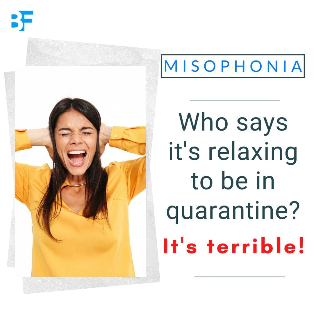 Who says it's relaxing to be in quarantine it's terrible with misophonia-min